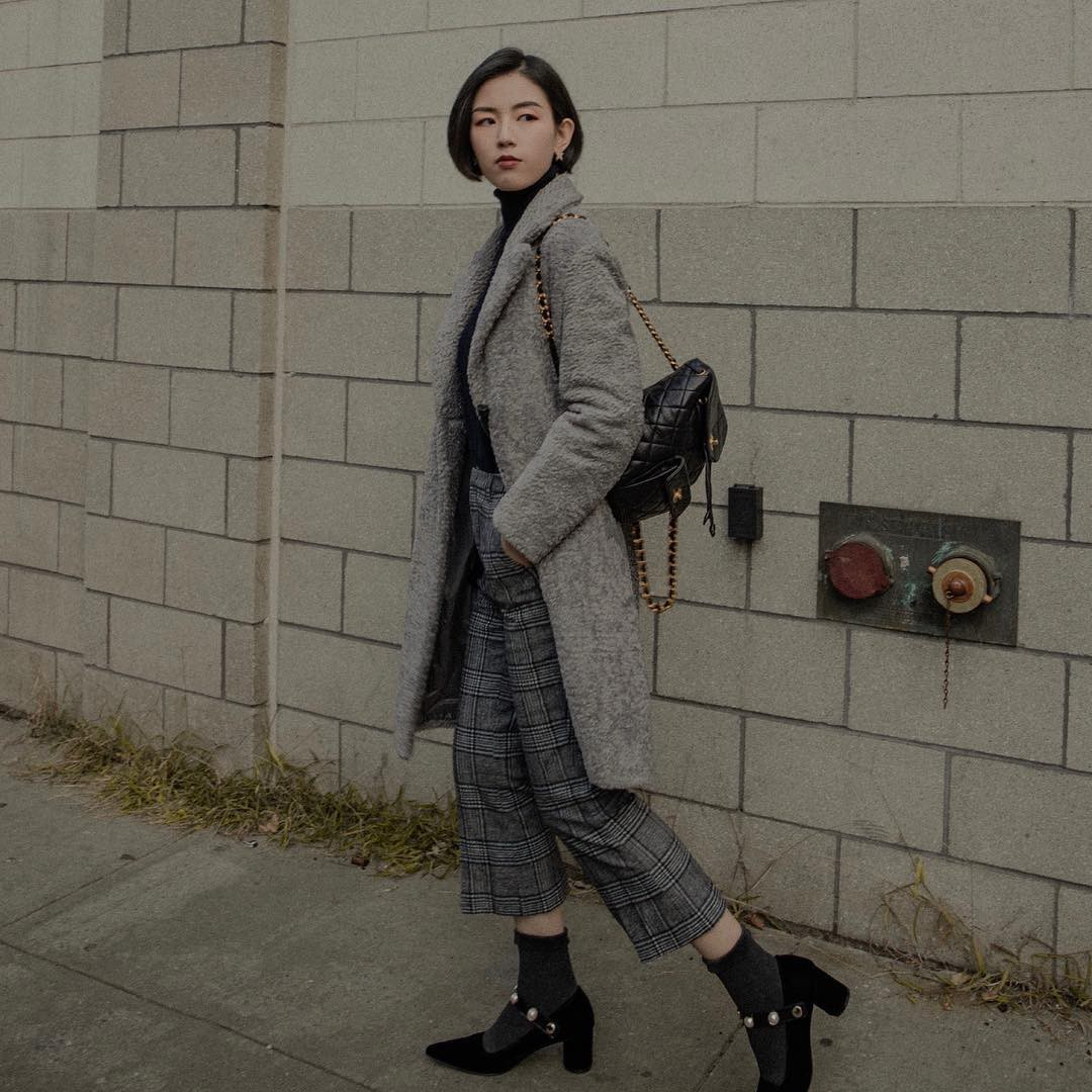 Bộ đôi áo khoác dài + quần ống rộng chẳng những không kén dáng mà còn biến mọi nàng thành quý cô sành điệu - Ảnh 4