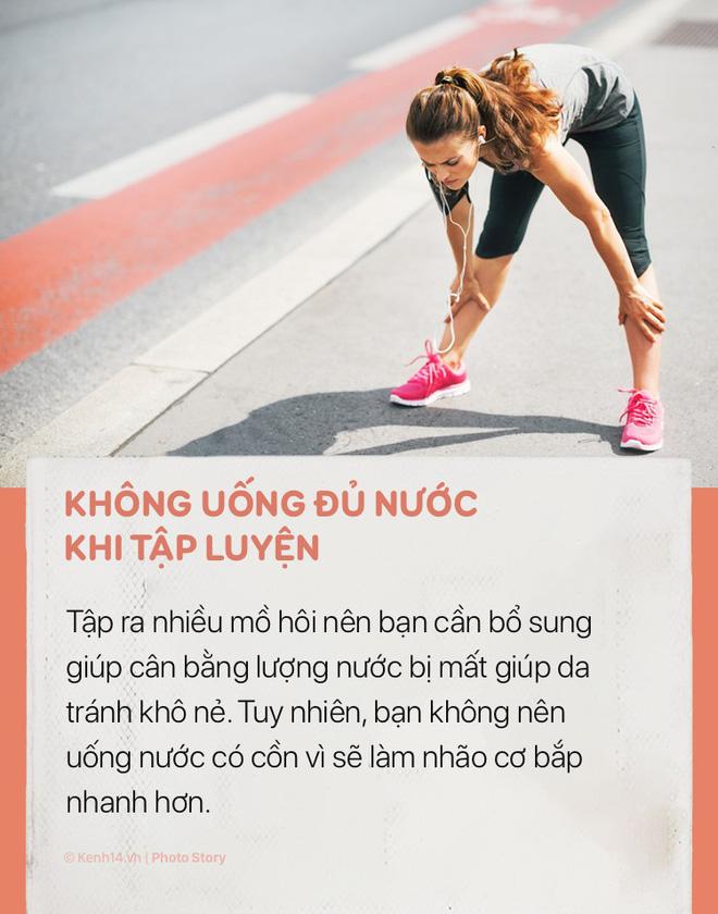 Tập thể dục rất tốt cho cơ thể nhưng hãy chú ý những sai lầm sau để tránh gây hại cho sức khoẻ và khiến bạn già đi trước tuổi - Ảnh 5