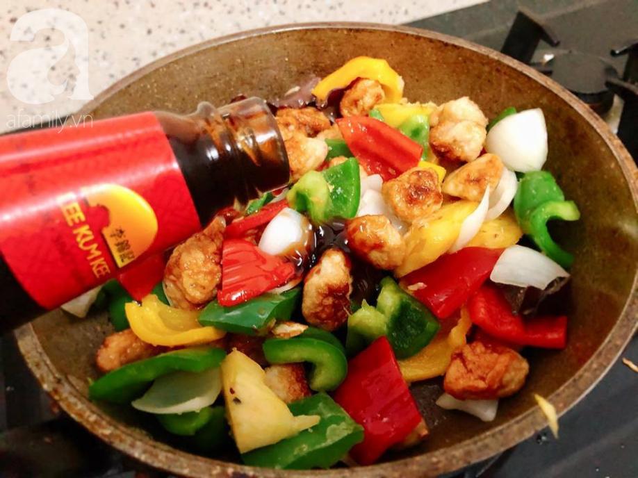 Thêm món xào đầy màu sắc cho bữa tối đủ chất và ngon miệng - Ảnh 3
