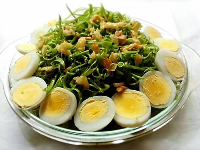 Cần giảm cân bữa tối hãy ăn rau muống trộn dầu giấm cực ngon bạn nhé! - Ảnh 4