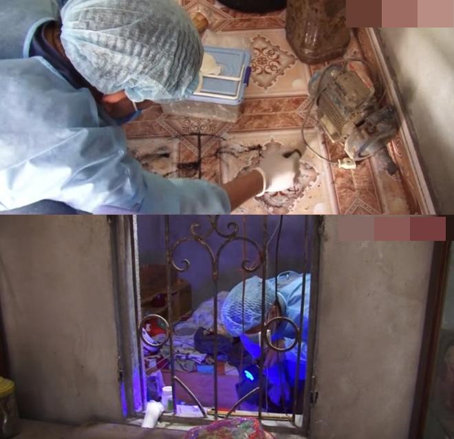 Khám nhà Bùi Văn Công phát hiện nữ sinh giao gà bị nhét giẻ vào miệng, trói tay rồi hãm hiếp ở nhiều nơi trong nhà - Ảnh 1