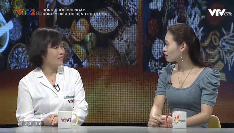 Bác sĩ Thanh Hà điều trị viêm âm đạo cùng 'Sống khỏe mỗi ngày' - Ảnh 2