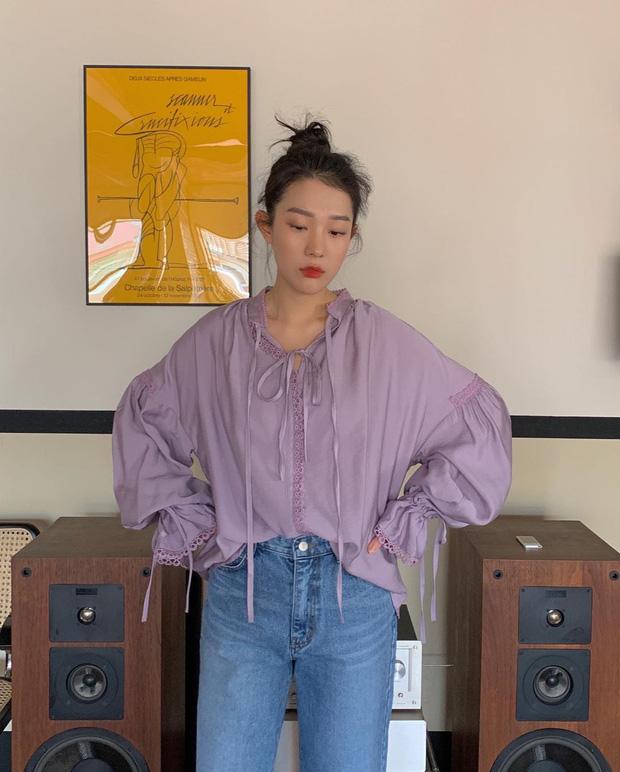 cach phoi do voi ao blouse 5