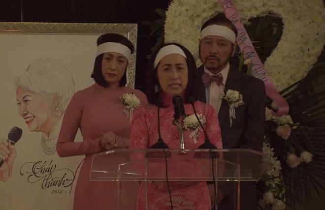 Lễ tang danh ca Thái Thanh: Chỉ có người thân, công chúng chia buồn qua livestream, Ý Lan gục bên quan tài mẹ - Ảnh 2