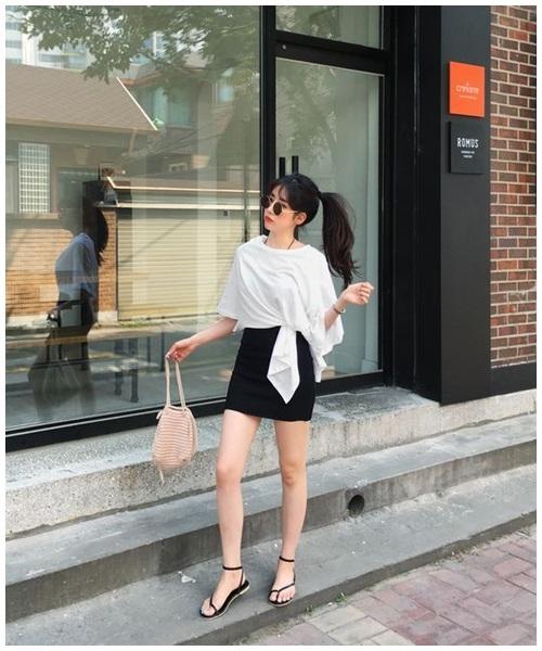 Mini skirt - món đồ 'gây bão' mùa nắng nóng - Ảnh 3