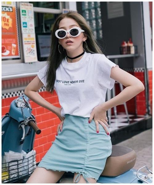 Mini skirt - món đồ 'gây bão' mùa nắng nóng - Ảnh 7
