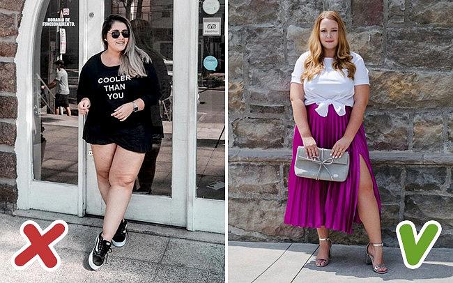 """7 trang phục được xem là """"kẻ thù không đội trời chung"""" mùa hè của hội chị em thừa cân - Ảnh 6"""