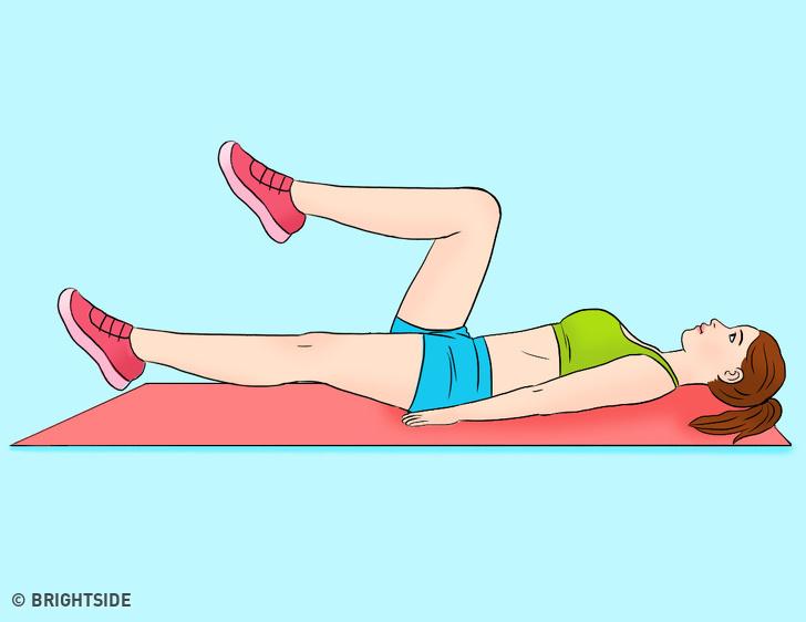 Động tác giảm kích thước vòng eo cực nhanh, tập đều đặn sau 7 ngày mỡ bụng bị đốt cháy toàn bộ - Ảnh 2