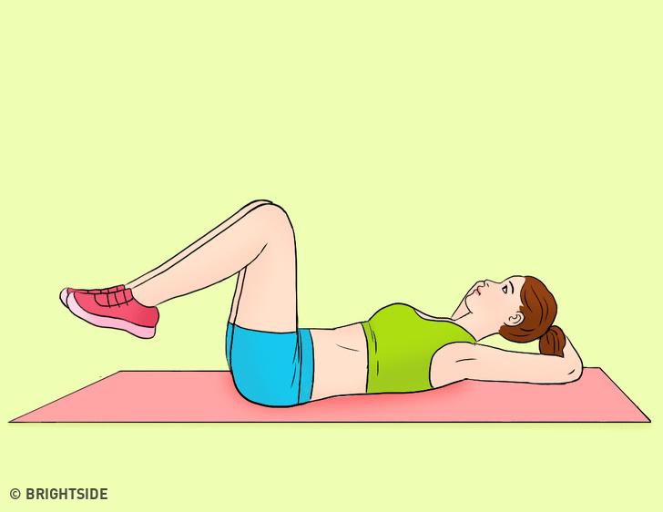 Động tác giảm kích thước vòng eo cực nhanh, tập đều đặn sau 7 ngày mỡ bụng bị đốt cháy toàn bộ - Ảnh 4