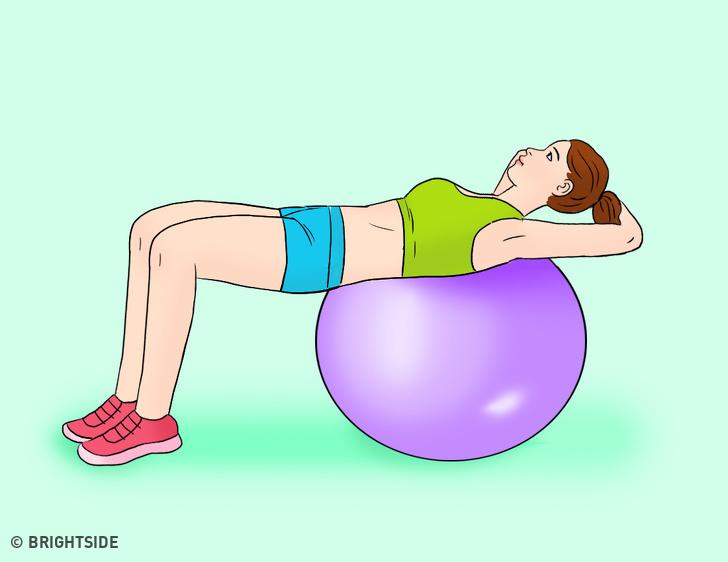 Động tác giảm kích thước vòng eo cực nhanh, tập đều đặn sau 7 ngày mỡ bụng bị đốt cháy toàn bộ - Ảnh 6