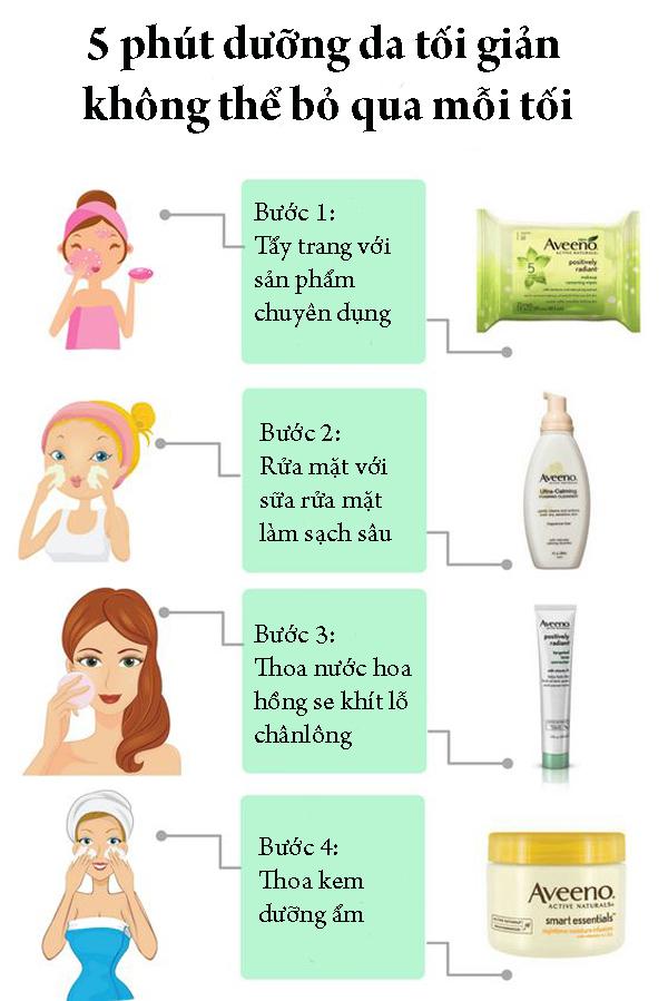 5 phút dưỡng da tối giản mỗi tối không thể bỏ qua - Ảnh 1