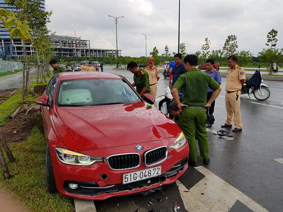 Cô gái 20 tuổi chết thảm sau va chạm với xế hộp BMW trên đường phố Sài Gòn - Ảnh 1