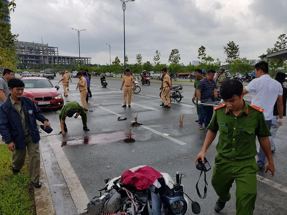 Cô gái 20 tuổi chết thảm sau va chạm với xế hộp BMW trên đường phố Sài Gòn - Ảnh 2