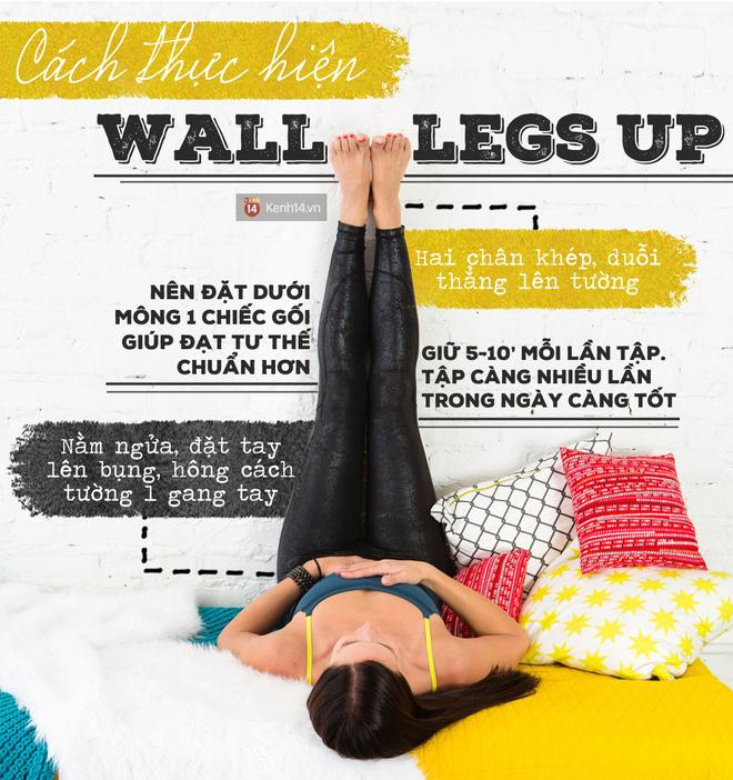 Lười vận động đến mấy vẫn có thể thu lại 5 lợi ích chỉ bằng tư thế chống chân lên tường - Ảnh 1