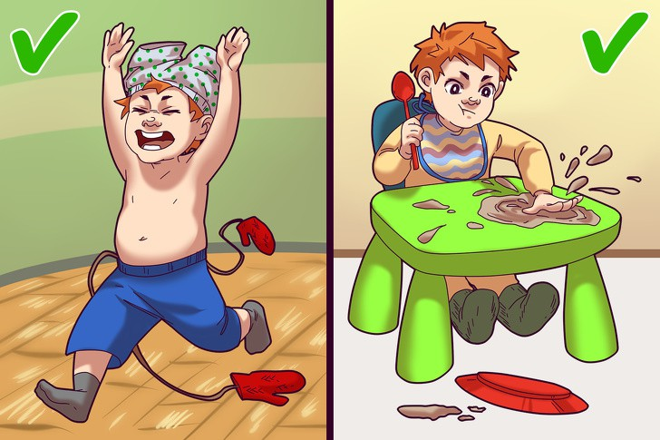 8 hành vi của trẻ tưởng là hư nhưng thật ra rất bình thường, cha mẹ chớ vội mắng oan - Ảnh 5