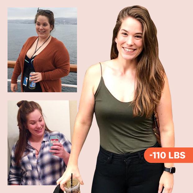Ăn nhiều hơn trước nhưng cô gái này vẫn giảm được gần 59kg sau 18 tháng - Ảnh 1