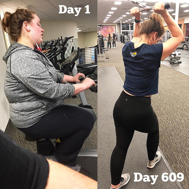 Ăn nhiều hơn trước nhưng cô gái này vẫn giảm được gần 59kg sau 18 tháng - Ảnh 9