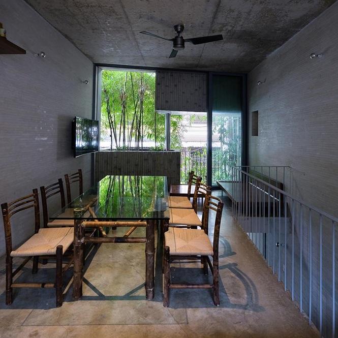'Nhà tre' như rừng cây trong hẻm Sài Gòn, vừa tắm vừa nghe chim hót - Ảnh 5