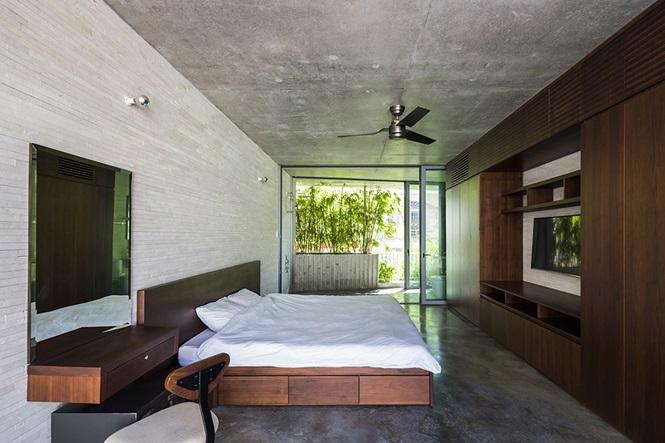 'Nhà tre' như rừng cây trong hẻm Sài Gòn, vừa tắm vừa nghe chim hót - Ảnh 6