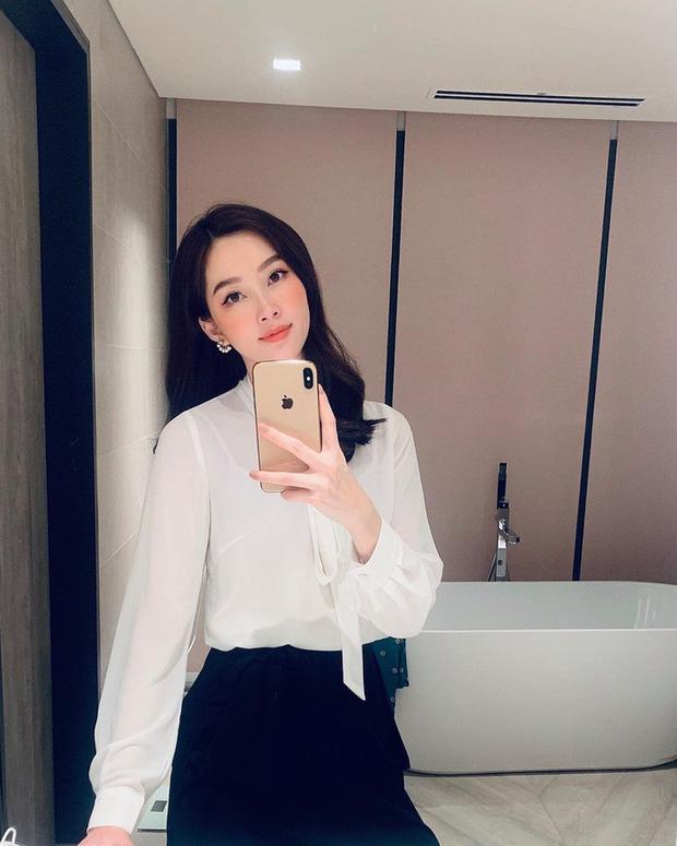 """Đối lập như Hà Tăng và Hoa hậu Thu Thảo: Cùng mê áo trắng nhưng người đậm chất công sở, người lại 'hack"""" tuổi tài tình - Ảnh 1"""