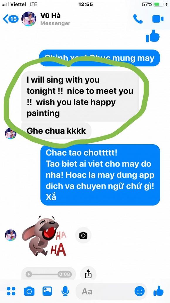 Không chỉ bóc phốt bạn thân sai lỗi tiếng Anh, Đàm Vĩnh Hưng còn đăng hình bạn mình đang dùng google dịch cực hài - Ảnh 1