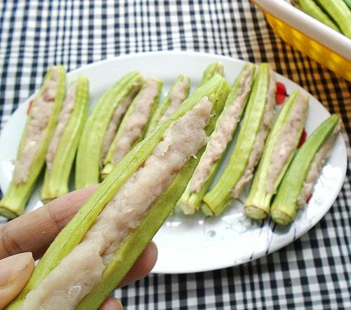 Thêm một cách chế biến đậu bắp ngon ăn 'quên sầu' - Ảnh 2