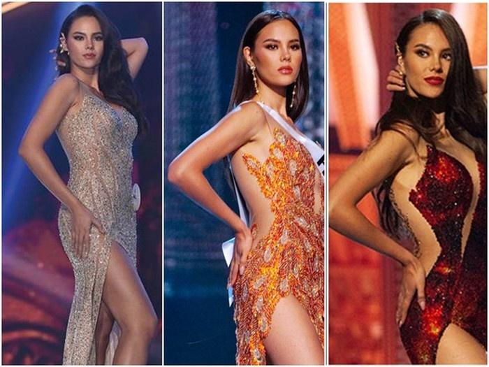 Lê Âu Ngân Anh bị bóc phốt bắt chước Hoa hậu Hoàn vũ Catriona Gray - Ảnh 4