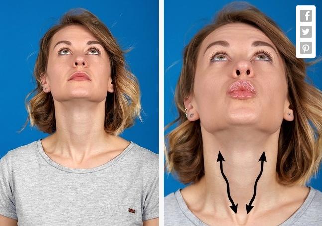 Bài tập yoga cho nữ giúp khuôn mặt thon gọn,
