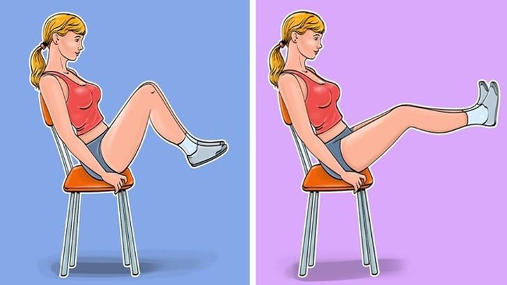 Những bài tập giảm eo đơn giản chỉ với 1 chiếc ghế tại nhà, chị em tha hồ diện bikini khoe dáng ngày hè - Ảnh 3
