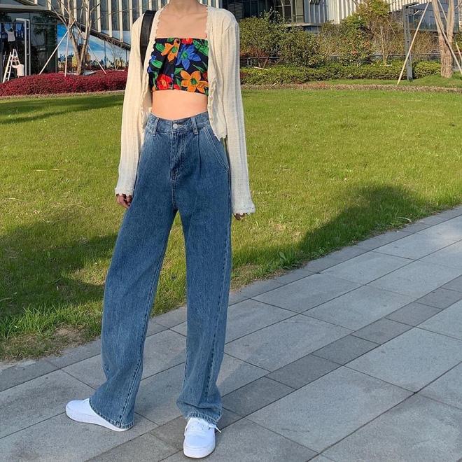 """Có một kiểu quần jeans sao Việt """"phát cuồng"""" mới đây nhưng Rosé thì đã diện suốt từ năm ngoái mới tài - Ảnh 12"""