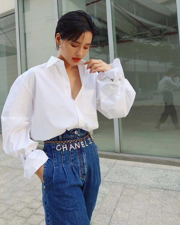 """Có một kiểu quần jeans sao Việt """"phát cuồng"""" mới đây nhưng Rosé thì đã diện suốt từ năm ngoái mới tài - Ảnh 6"""