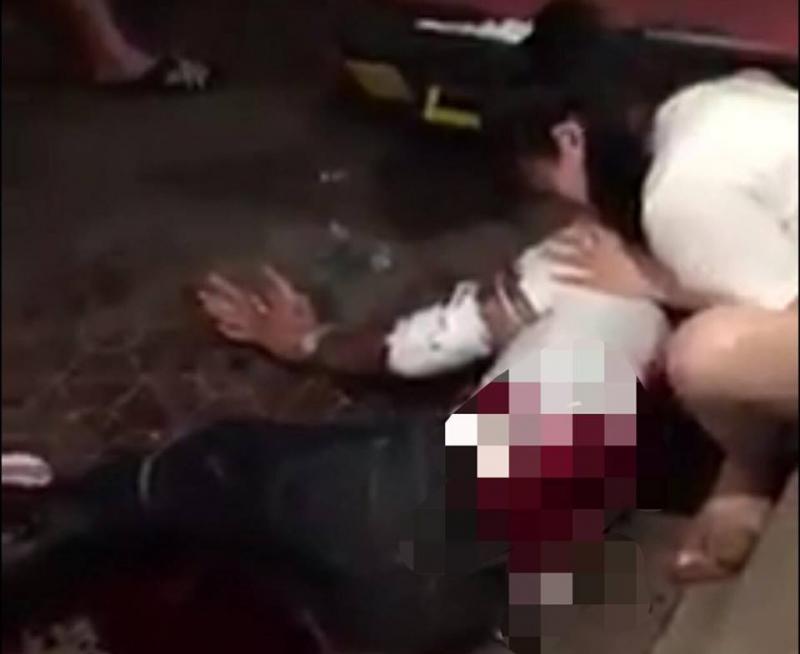 Truy bắt các sát thủ bịt mặt chém người ở chợ Rồng Nam Định - Ảnh 1