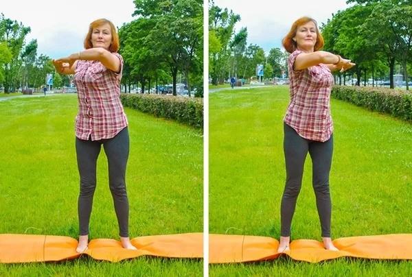 12 động tác giúp giảm mỡ thừa toàn thân cho phụ nữ ngoài 40 - Ảnh 3