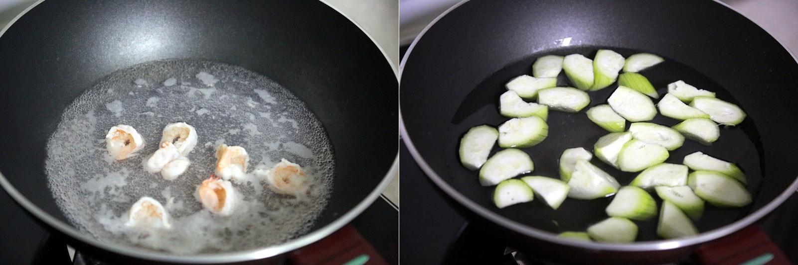 Canh mướp nấu tôm đậu phụ thanh mát ngày hè - Ảnh 3