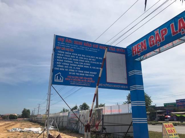 Khu dân cư Nam Tân Uyên được rao bán rầm rộ bất chấp các yếu tố pháp lý - Ảnh 2