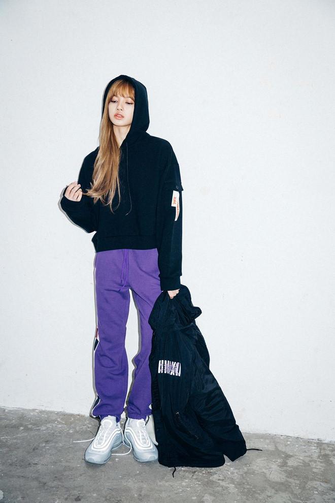 Lisa (BlackPink) và công thức phối đồ khéo khoe eo thon, chân dài - Ảnh 5