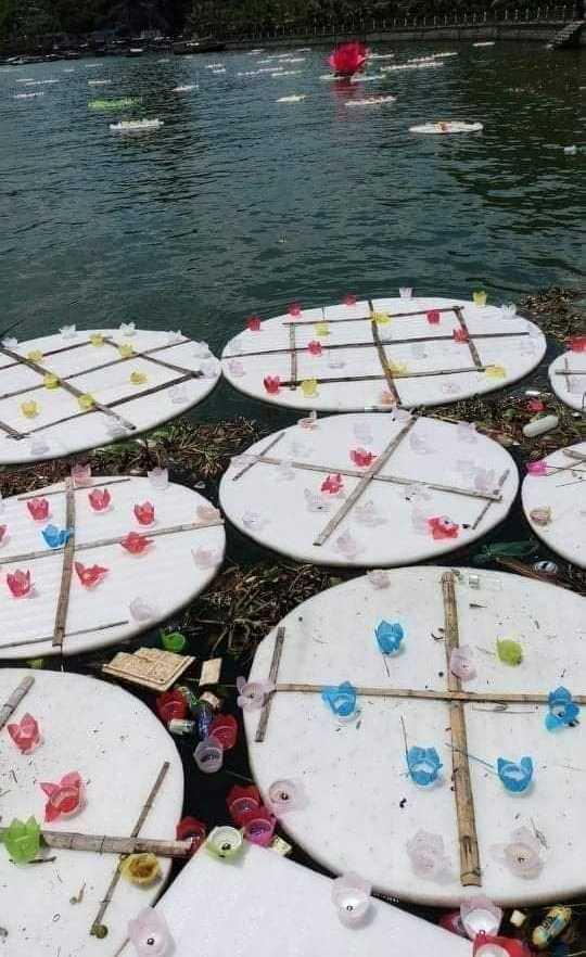 Thả 3 vạn hoa đăng nhựa xuống biển Cát Bà là để 'bảo vệ môi trường' - Ảnh 4