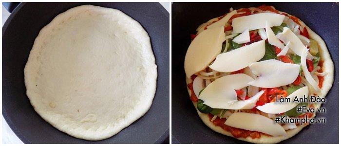 Tự làm pizza bằng chảo tại nhà cực ngon đâu cần đến lò nướng - Ảnh 3