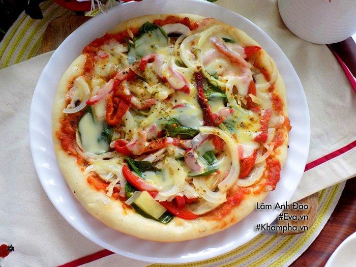 Tự làm pizza bằng chảo tại nhà cực ngon đâu cần đến lò nướng - Ảnh 5