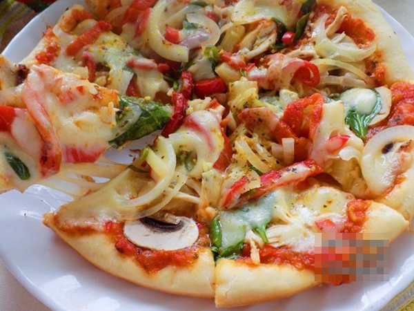 Tự làm pizza bằng chảo tại nhà cực ngon đâu cần đến lò nướng - Ảnh 6