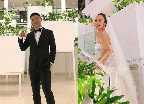 Vũ Ngọc Anh phủ nhận tin đồn cưới chạy bầu, xác nhận đang hẹn hò với Cường Seven - Ảnh 1