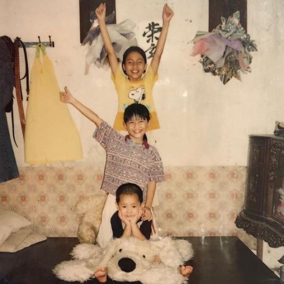 Chị em Á hậu Thanh Tú - Trà My lộ ảnh thuở bé siêu đáng yêu - Ảnh 3