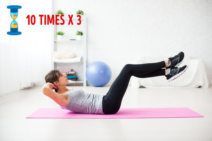 Tập ngay 8 động tác yoga đốt cháy mỡ bụng này, vòng eo không chỉ thon gọn mà còn lộ rõ đường cong gợi cảm - Ảnh 2