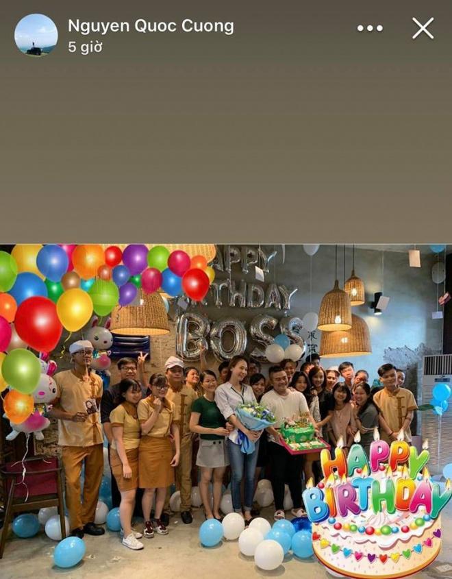 Không rình rang, Cường Đô La chúc mừng sinh nhật sớm Đàm Thu Trang bằng cách này - Ảnh 2