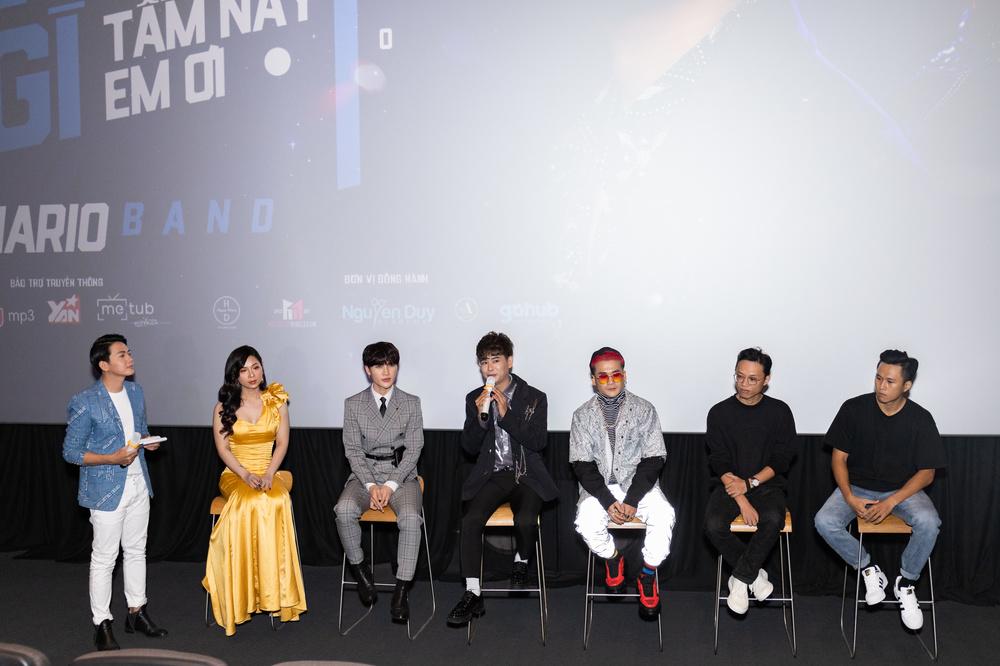 Hồ Quang Hiếu đến chúc mừng Mario Band chính thức debut - Ảnh 3