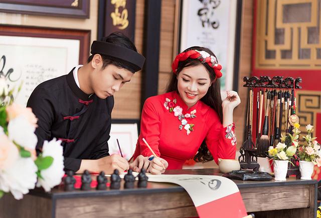 Tục khai bút đầu xuân thể hiện tinh thần hiếu học đáng tự hào của dân tộc Việt Nam