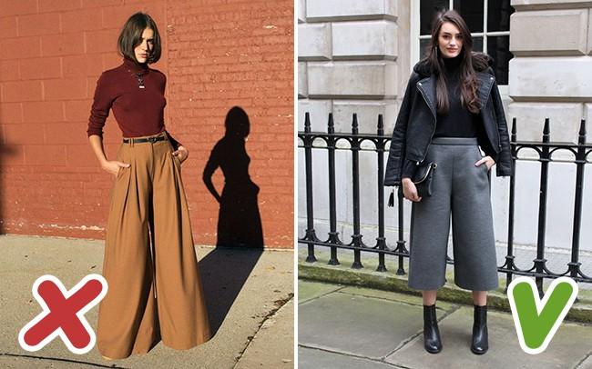 5 lỗi mặc quần culottes mà chị em cần tránh tuyệt đối để không biến mình thành thảm họa - Ảnh 3