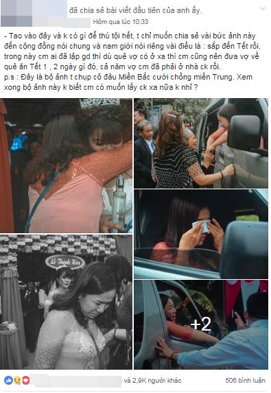 Chàng trai trẻ gửi lời nhắn đến hàng triệu đàn ông Việt: 'Tết hãy cho vợ về nhà nhé, cả năm đã ở nhà chồng rồi' - Ảnh 1