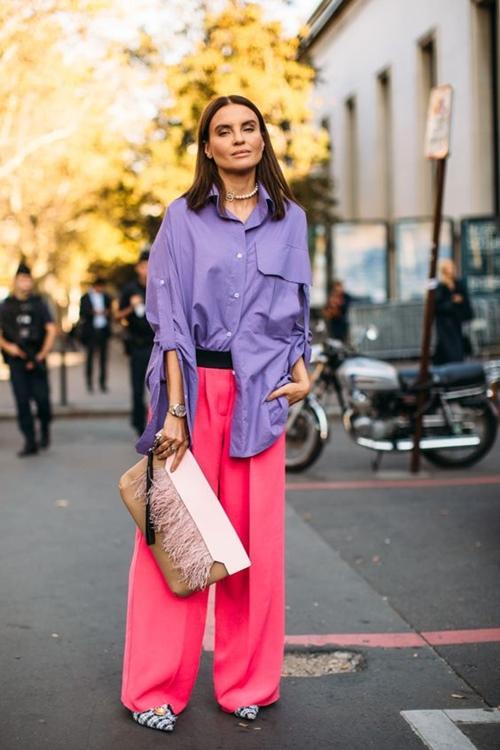4 cách mặc màu hồng đặc biệt thật tuyệt! - Ảnh 5