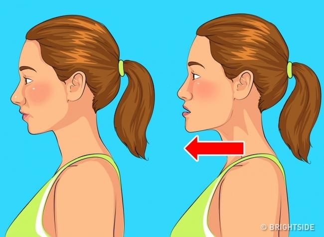 5 bài tập đơn giản làm giảm nọng cằm giúp khuôn mặt thon gọn, trẻ trung hơn - Ảnh 1